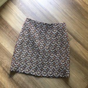 H&M Brocade Miniskirt